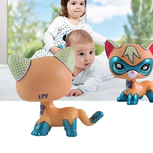 Rare Pet Shop Action Figure toys Cartoon Animal Cat Figures Collection Figure Cute Toy LPS for Kids/Child/Girl Gift 1pcs