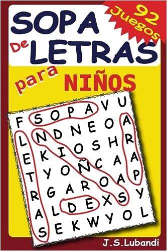 Sopa De Letras Para Niños: Volume 1 por J S Lubandi epub