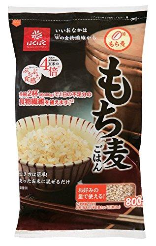 Hakubaku glutinous barley rice 800g (800gX6 bags) X1 Case Case sale by Hakubaku