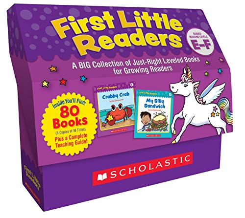 First Little Readers Classroom Set: Levels E & F: A Big Collection of Just-Right Leveled Books for Growing Readers