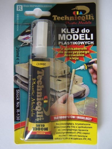 Price comparison product image Technicqll Clear Adhesive Glue For Plastic Models Polystyrene Ps & Plastics Hobby Diy