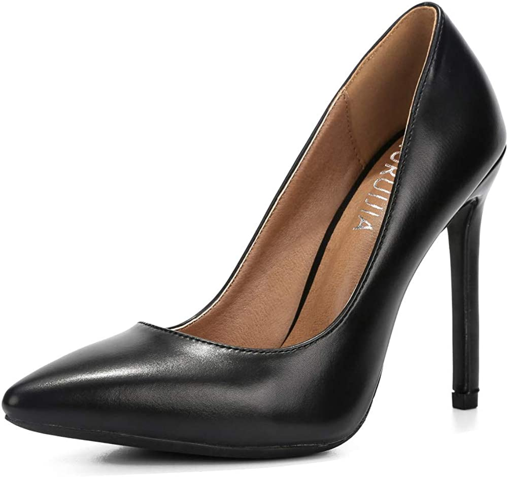 Vogue Women High Stiletto Heel Pointy Toe Sandals Pump New Shoes Formal Business
