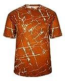 Orange AdultLarge Athletic Sports Performance Wicking Jersey/Shirt