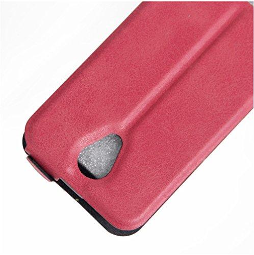 Funda ZTE Blade A462,Manyip Caja del teléfono del cuero,Protector de Pantalla de Slim Case Estilo Billetera con Ranuras para Tarjetas, Soporte Plegable, Cierre Magnético E