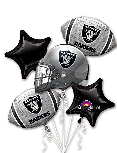 Anagram Bouquet Raiders Foil Balloons,