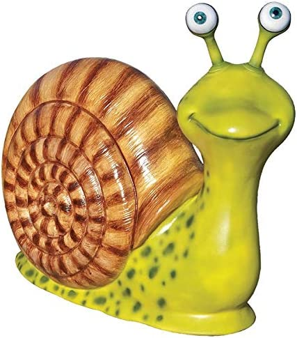 Design Toscano Monsieur Escargot Enormous Garden Snail Statue