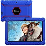 Contixo V8-2 7' Edition Android 16GB Kids Tablet Parental Control 20 Learning Education Apps on Google Certified Playstore Toy Tablet for Kids, Kids- Proof, WiFi Camera Best Gift (Dark Blue)