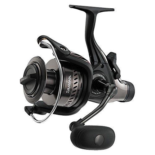 Daiwa Emcast Bite and Run 4500A Spinning Reel, Black