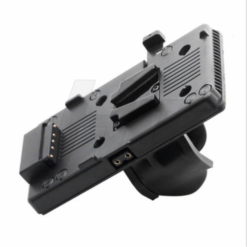 hangton Vマウントv-lockバッテリープレート電源供給アダプタD -タップ V mount  V-U clip B07FZ4K7J1