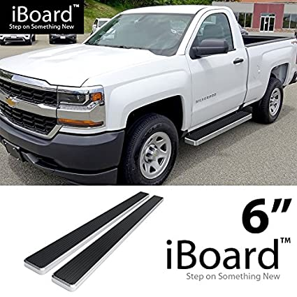 Off Roader For 2007 2018 Chevy Silverado Gmc Sierra Regular Cab Nerf Bar Side Steps 6 Eboard Running Boards