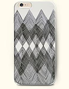 Black And White Chevron - Geometric Pattern - Phone Cover for Apple iphone 5C ( inches ) - SevenArc Authentic...