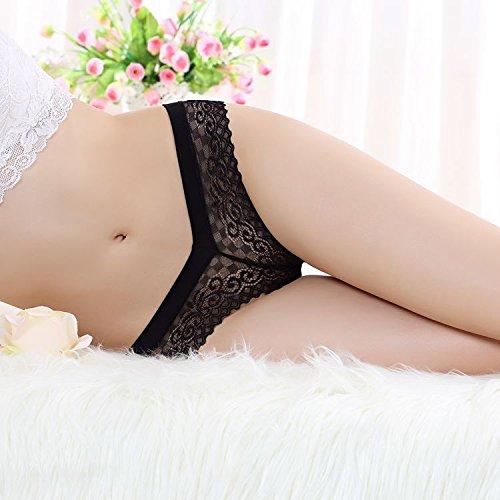 4 Sexy Panty-Set 'New Orleans' - Damen Slip in Spitze | Größe 34-36