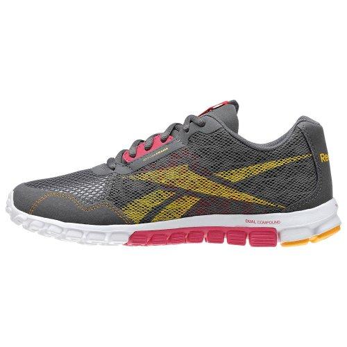 Reebok 0 grau REALFLEX Damen Schuhgröße 0 2 weiß Laufschuh RUN orange 40 pink 7Z7Yrq4w
