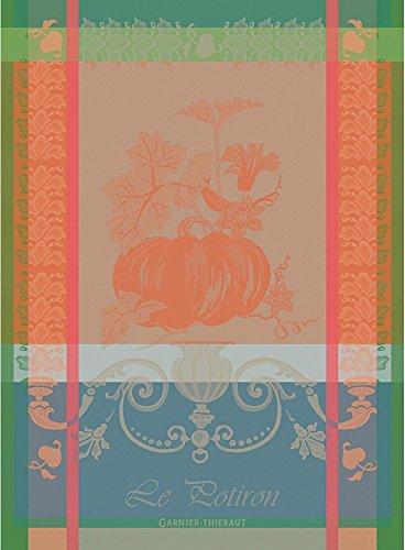 Garnier Thiebaut Potiron  Rouille Woven French Kitchen Towel