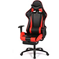 BestOffice New Gaming High-Back Computer Chair (Red)