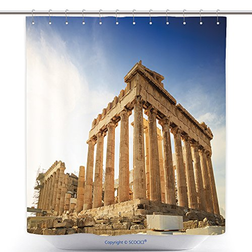 Herodes Costume (Cool Shower Curtains Acropolis Hill, Parthenon, Athens, Greece. Odeon Herodes Atticus_492651752 Polyester Bathroom Shower Curtain Set With Hooks)
