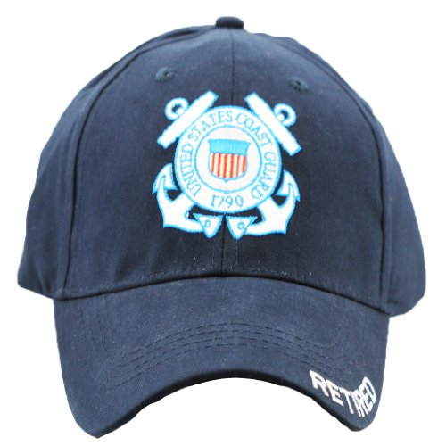 US Coast Guard Retired Cap United States Coast Guard Military Hats Men and -