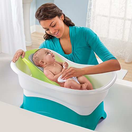 Blooming Bath Lotus - Baby Bath (Gray/Dark Gray)