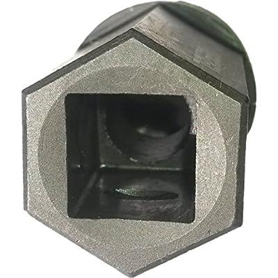 "HHC Diesel ~ FORD 6.0L Nipple Cup/Ball Tube Socket ~High Pressure Oil Rail Tool with 1/2"" Square Drive & F60L-BALSKT: Automotive"