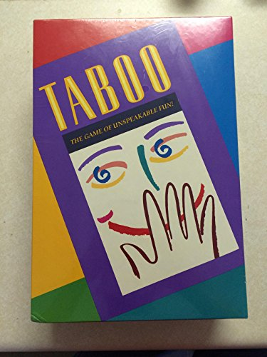(Milton Bradley Taboo - the Game of Unspeakable Fun (1989)