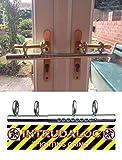 Ironmongery World? Patio Double French door sliding Deadlock bolt Intruder Lock for extra security by Ironmongery World