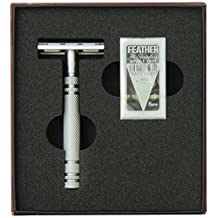 Feather All Stainless Steel Double Edge Shaving Razor
