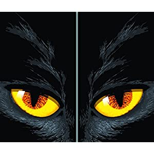 WOWindow Posters Scary Jack Halloween Window Decoration (2/pkg) Pkg/12