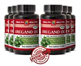 Natural fat loss supplement for women - PURE OIL OF OREGANO EXTRACT 1500 Mg - Bowel cleanse Oregano oil extract - 6 Bottles 360 Capsules