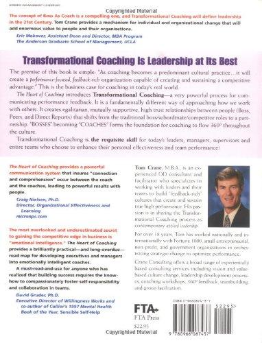 The Heart of Coaching: Using Transformational Coaching to Create a High-Performance Coaching Culture