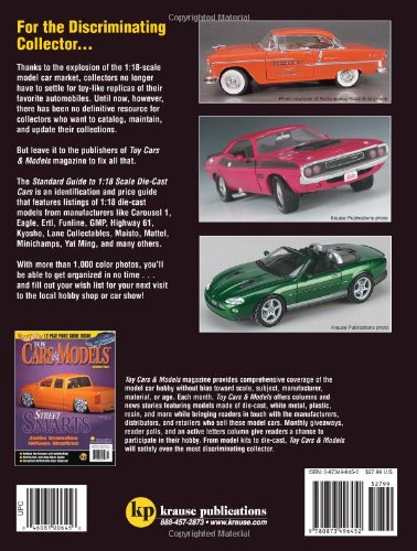 Standard Guide to 1:18 Scale Die-Cast Cars