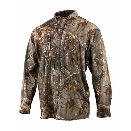 4091ffbd39fe7 Amazon.com : Browning Wasatch Mesh Lite Long Sleeve Shirt : Sports ...