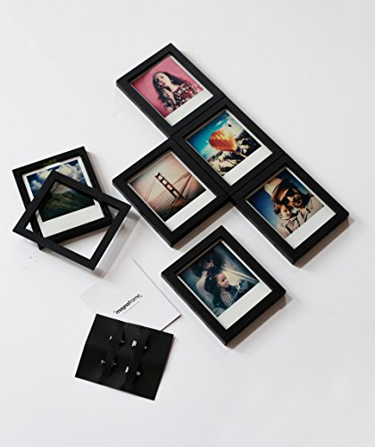 Magnaframe Magnetic Picture Frame Gallery - Polaroid Originals - 6 Pack - - Frame Polaroid Square