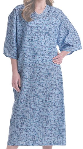 Hospital Gown - Wholesale UNISEX Exam Gown (Pack of (Tie Back Patient Gown)