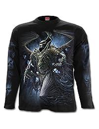 Spiral - WINGED SKELTON - Longsleeve T-Shirt Black