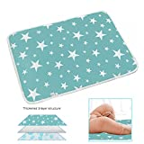 "Changing Pad - Biggest Portable Changing Mat to Change Diaper (20""x28"") Waterproof Sheet for Any Places for Home Travel Bed Play Stroller Crib Car - Mattress Pad Cover for Boys and Girls"