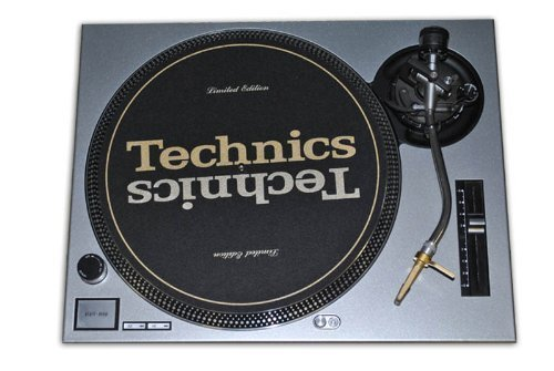 Technics Silver Face Plate for Use With Technics SL1200/SL12
