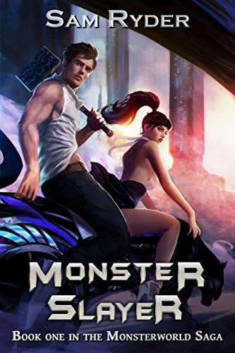 Warrior: Monster Slayer (The Monsterworld Saga Book 1) cover