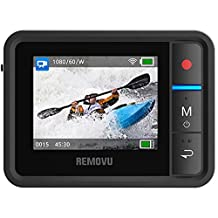 Removu RM-R1 Live View Remote for GoPro HERO3/HERO3 Plus/HERO4 and GoPro Hero4 Session, Black