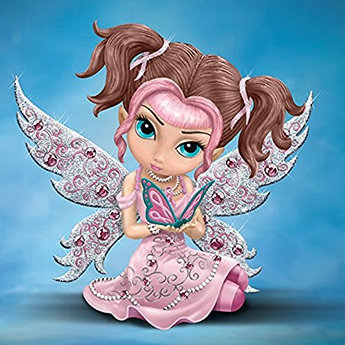 The Bradford Exchange Hope Sparkles Crystal Reflections Figurine Collection By Jasmine (Bradford Exchange Collector)
