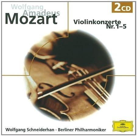 Violinkonzerte 1-5 / Violin Concertos 1-5 By Mozart (Composer),,Wolfgang Schneiderhan (Performer) (2007-08-21)