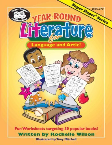Year-Round Literature for Language and Artic: Fun Worksheets ...
