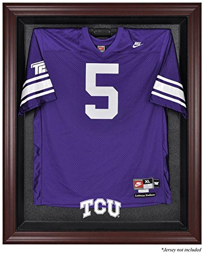 NCAA - TCU Horned Frogs Framed Logo Jersey Display Case by Sports Memorabilia