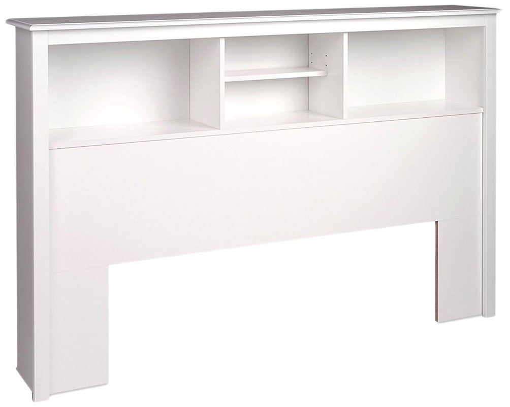 Prepac WSH-6643 Monterey Storage Headboard, Queen, White by Prepac