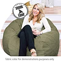 Groovy Cordaroys Chenille Bean Bag Chair Convertible Chair Folds From Bean Bag To Bed As Seen On Shark Tank Moss Queen Size Andrewgaddart Wooden Chair Designs For Living Room Andrewgaddartcom