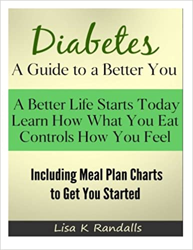 diabetes a guide to a better you including meal plan charts to