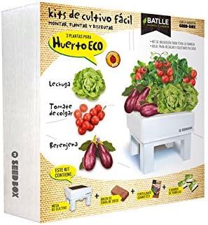 Huerto Urbano - Seed Box Huerto - Batlle: Amazon.es: Jardín