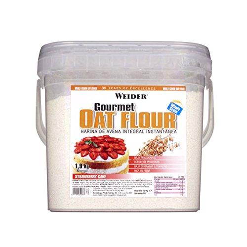Weider Gourmet Oat Flour sabor Strawberry Cake - 1,9 Kg: Amazon.es: Alimentación y bebidas