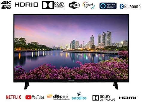 EAS E43SL952 TELEVISOR 43 UHD 4K Smart TV DVB-T/T2/C/S/S2 HEVC: Eas: Amazon.es: Electrónica