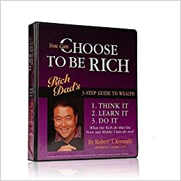 You Can Choose to Be Rich (12 AUDIO CASSETTES): Rich Dads 3-step Guide to Wealth (Rich Dad Series) by Time-Life Books Audio, Cassette – Unabridged, 2001