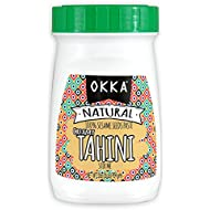 Okka 100% Natural Ground Sesame Tahini, 16 oz